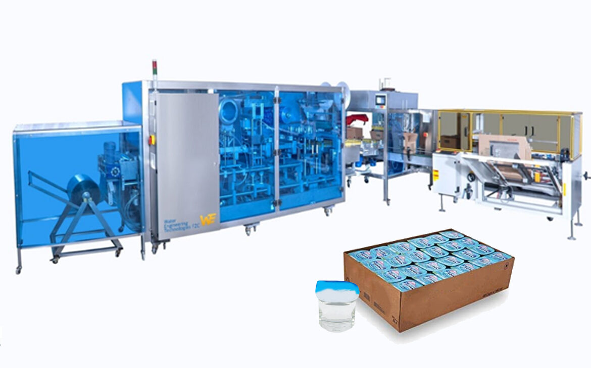 Cup Form-Fill-Seal Machine along with Cup Water